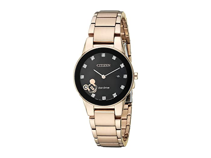 Citizen Watches  Mickey Mouse GA1056-54W (Rose Gold Tone) Watches