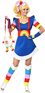 Adult Rainbow Brite Costume Women's Rainbow Brite Costume