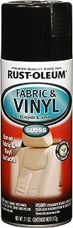 Rust-Oleum 248918 Automotive Fabric & Vinyl Spray Paint, 11-Ounce, Gloss Black