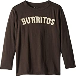 Super Soft Burritos Print Long Sleeve Tee (Little Kids/Big Kids)