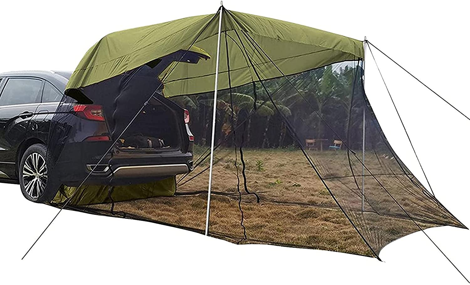 Fei Store Mei Car Tent Awning Sun Camp ShelterCar Sleeping Bed for Translated