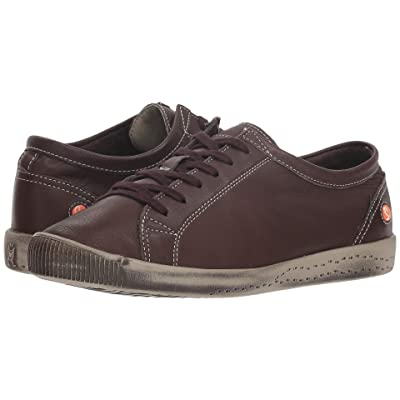 FLY LONDON Isla (Dark Brown Smooth Leather) Women
