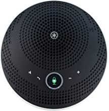 $189 Get Yamaha YVC-200 Wireless Portable Bluetooth & USB Conference Speakerphone (Black)