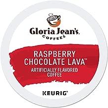 Gloria Jean's Coffees Raspberry Chocolate Lava, Single Serve Coffee K-Cup Pod, Flavored Coffee, 24