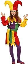 WIDMANN Sancto - Disfraz de bufón infantil, talla 5-7 años