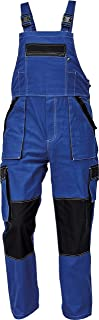 MAX Summer Men's Dungarees with Multifunctional Pockets - Heavy Duty