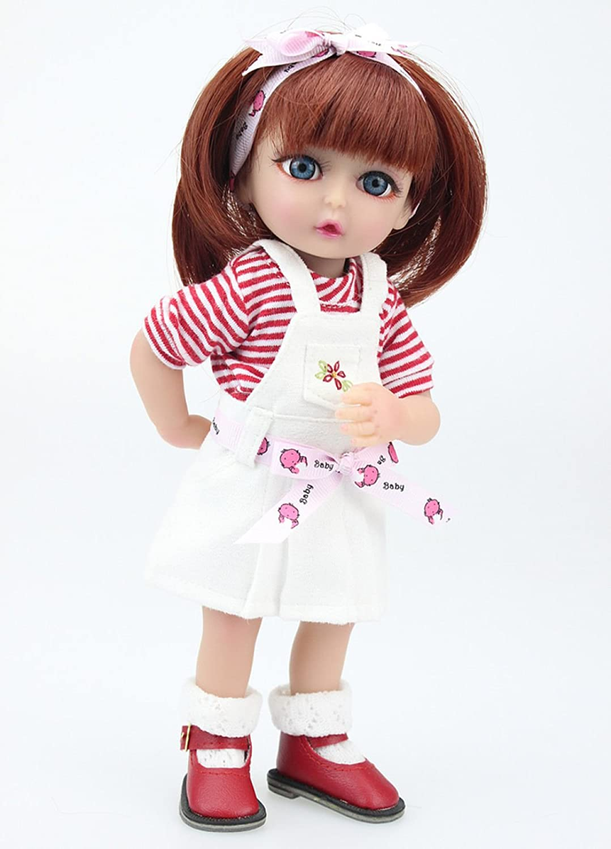 QXMEI Babypuppen Handmade Soft Silikon 10 Inch 25 cm Magnetic Schnuller Lebensechte Newborn Babypuppe Von,Girl