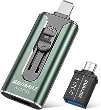 USB3.0 Flash Drives 512GB, AUAMOZ Memory Drive 512GB...