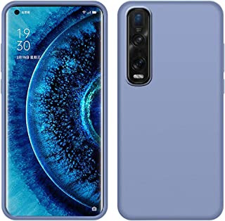 OPPO Find X2 Pro Case, LaimTop Slim Liquid Silicone Soft Gel Rubber Shockproof Anti-Scratch Protective Case Cover for OPPO...