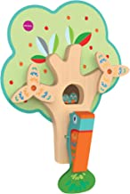 ORIBEL VertiPlay (Wall Toy) Busy Woodpecker, Wooden Toy and Nursery Room Decor   Easy to Install, Just Stick & Play