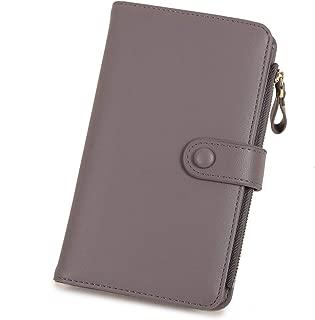 Women Wallet PU Leather Clutch Wallet Coins Phone Card Holder Organizer Travel Purse for Ladies Girls