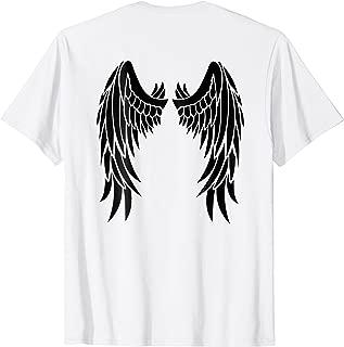 Angel Devil Halloween Costume Black Wings DIY T-Shirt