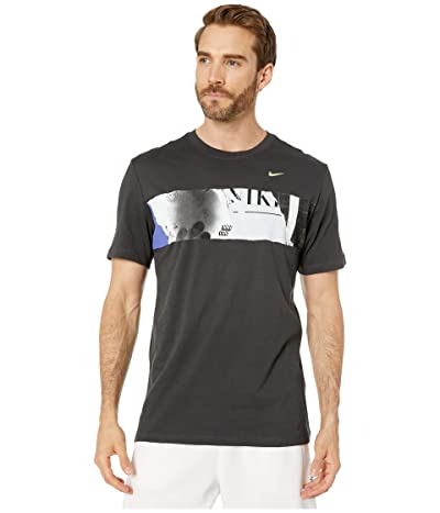 Nike NikeCourt Tee US Open GFX (Off Noir) Men