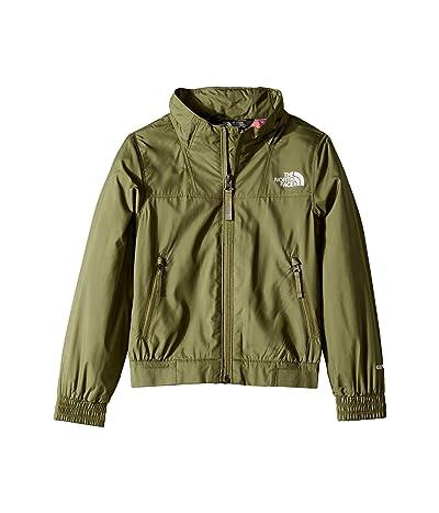 The North Face Kids Windy Crest Jacket (Little Kids/Big Kids) (Four Leaf Clover) Girl