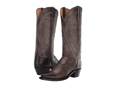 Lucchese Darlene (Anthracite Bright Dog Goat) Cowboy Boots