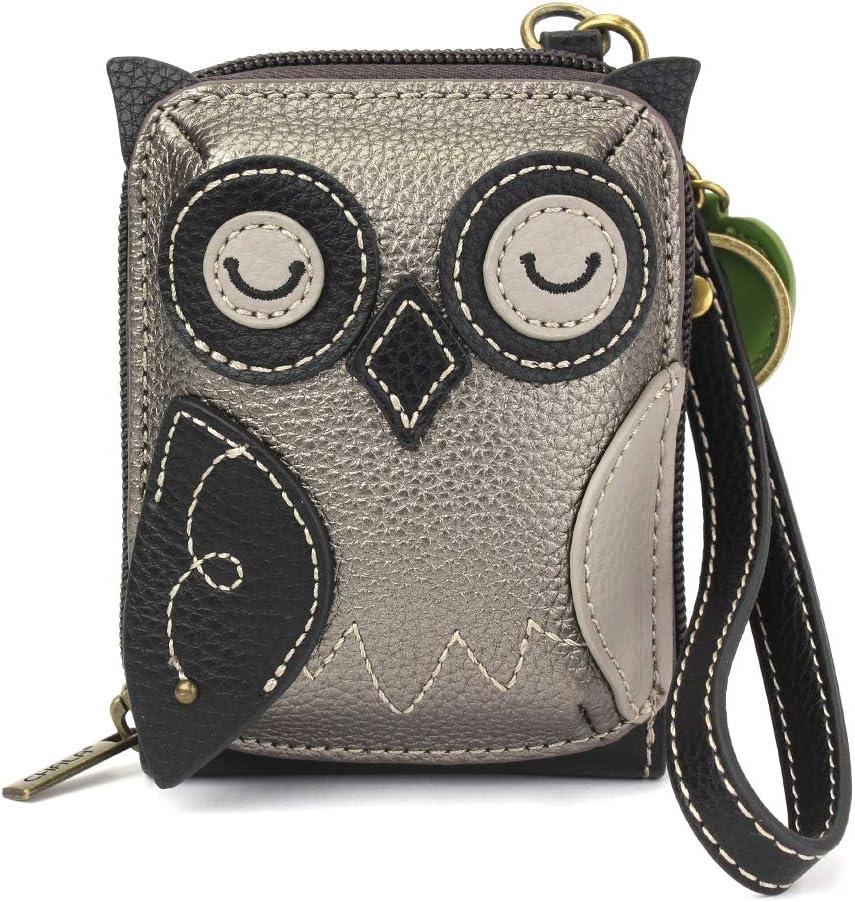 Chala Cute-C - Credit Card Holder/Wallet Wristlet - Owl