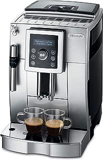 De'Longhi 德龙咖啡机ECAM 23.420.SB.全自动咖啡机 银黑(数字显示屏 可视化操作/13档咖啡豆研磨器 专业制作奶泡的出水嘴/可拆卸萃取机芯/可同时操作双杯萃?。?                          srcset=