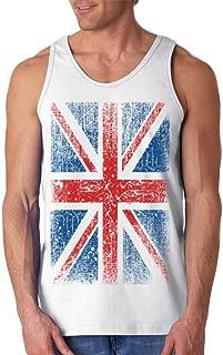 Union Jack Vintage British Flag Men's Tank Top United Kingdom Flag Tank Tops