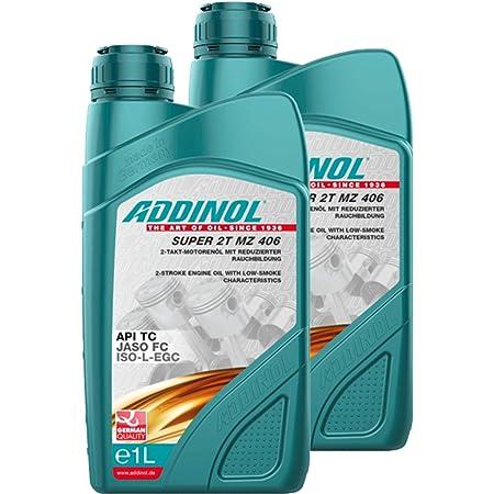 Addinol 2x Motoröl Motorenöl Motor Motoren Motor Oil Engine Oil 2 Takt Super 2t Mz 406 1l 72400907 Auto