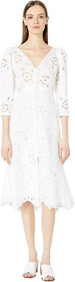 Long Sleeve Terri Embroidered Dress