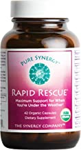 Pure Synergy Rapid Rescue (42 Capsules) w/Organic Echinacea & Elderberry Extracts
