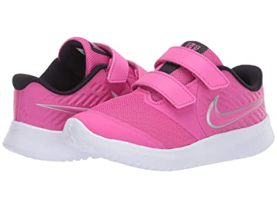 Nike Kids Star Runner 2 (Infant/Toddler) (Active Fuchsia/Metallic Silver/Black) Kids Shoes