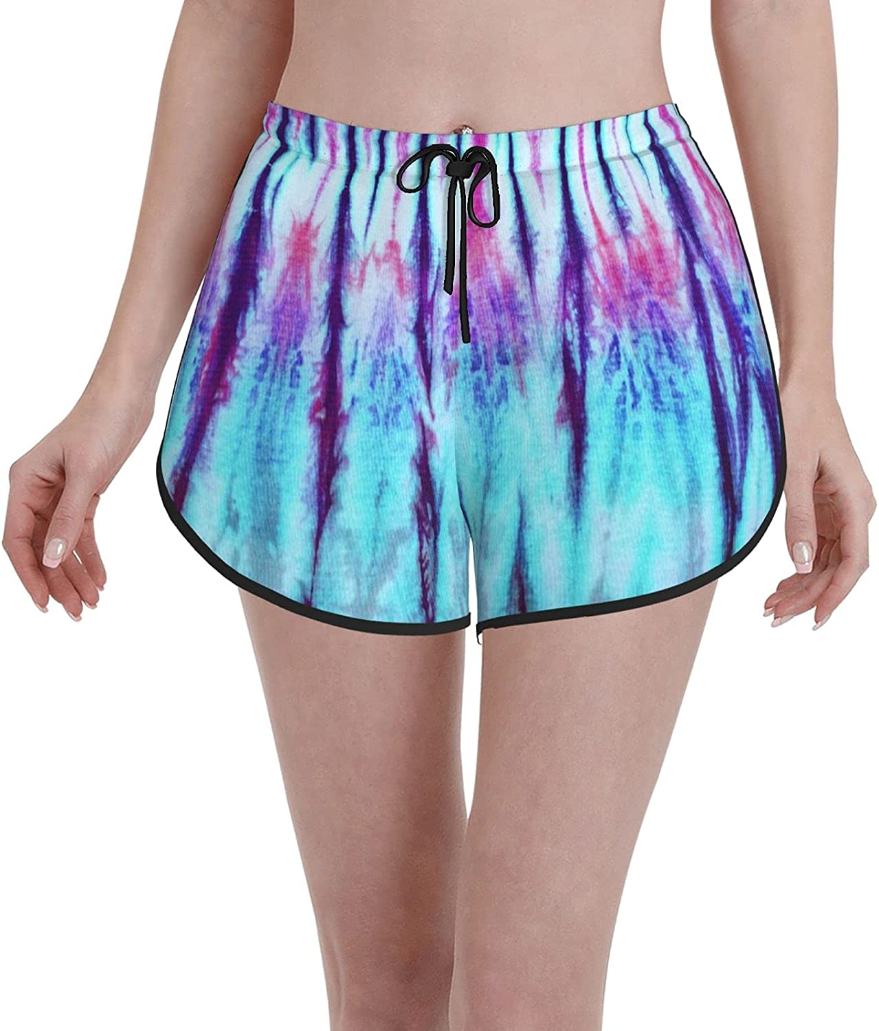 Mesa Mall Comfortable Casual Special sale item Board Shorts for Women Dyed Cott Girls On Tie