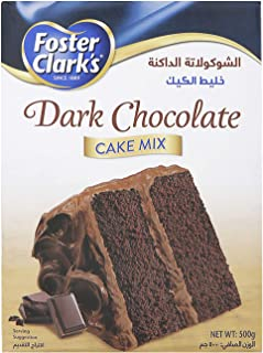 Foster Clarks Dark Chocolate Cake Mix, 500 g