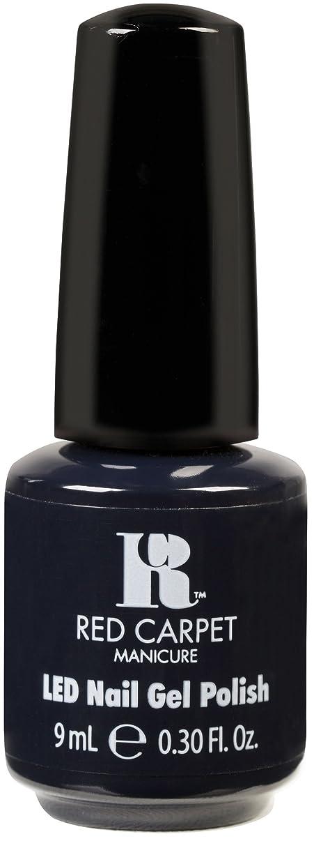 デンマークルー上にRed Carpet Manicure - LED Nail Gel Polish - Midnight Affair - 0.3oz / 9ml