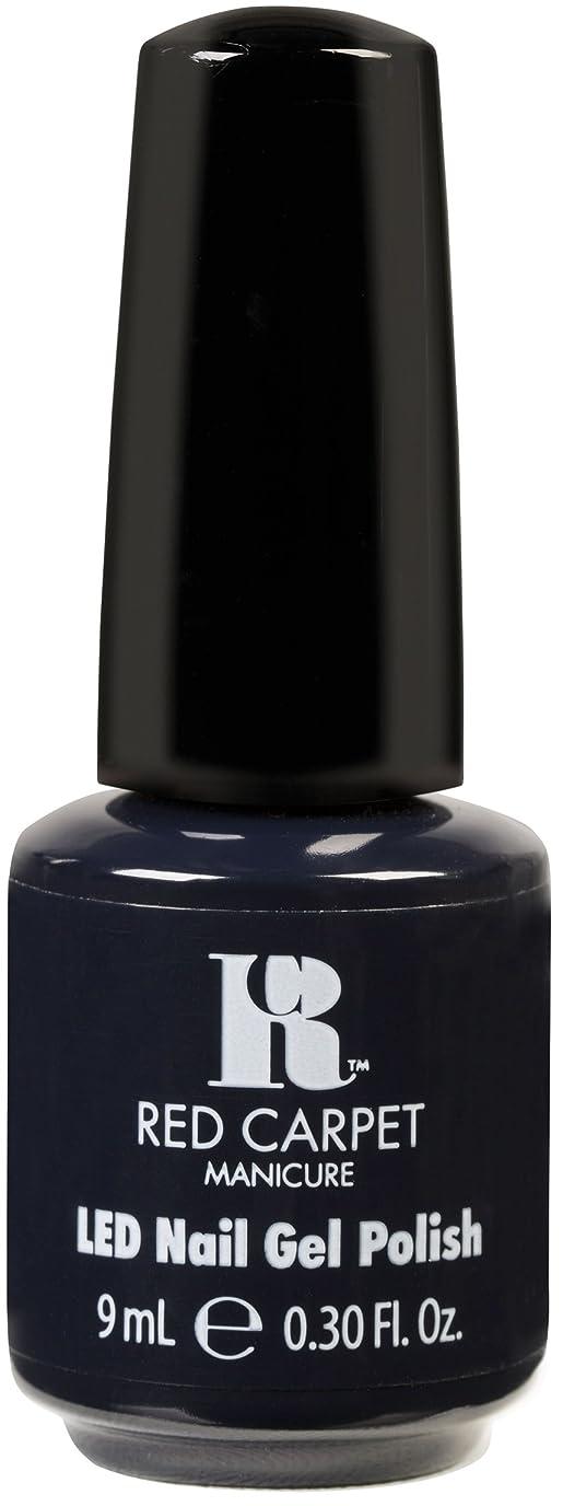 アロング二年生投げるRed Carpet Manicure - LED Nail Gel Polish - Midnight Affair - 0.3oz / 9ml