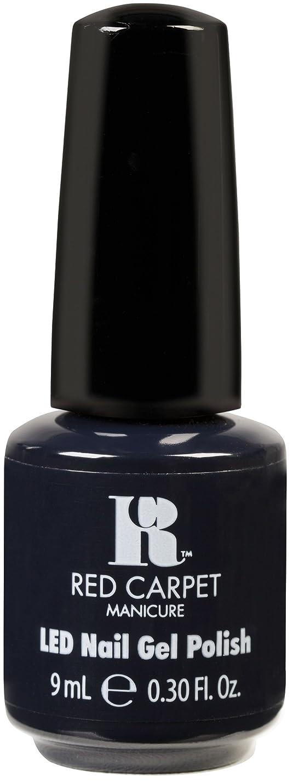 反対した流行している最もRed Carpet Manicure - LED Nail Gel Polish - Midnight Affair - 0.3oz / 9ml