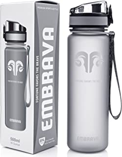 Best Sports and Fitness Water Bottle 530ml Eco-friendly Perfect for Running, Gym, Yoga, Tennis, Outdoors Durable