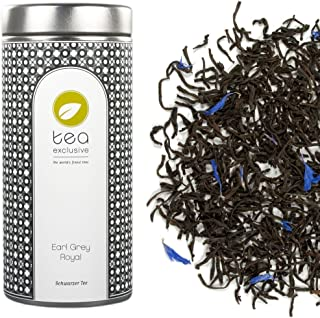 tea exclusive - Earl Grey Royal, Schwarzer Tee, Ceylon, Dose 80g