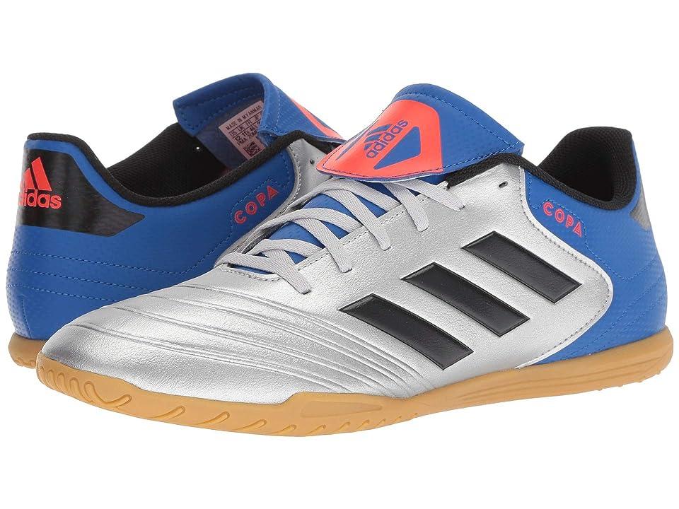 adidas Copa Tango 18.4 IN (Silver Metallic/Black/Football Blue) Men