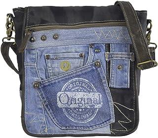 Sunsa Messengertasche Umhängetasche Damen Handtasche Canvas Bag mit Jeans klein Teenager Taschen Bags for Women Messenger ...