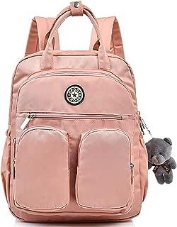 Scioltoo Nylon Backpack Girl Lightweight Waterproof Laptop Tote