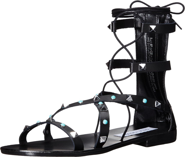 Steve Madden Womens Sunner Gladiator Sandal