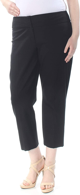 Alfani Womens Slim Fit Business Cropped Pants