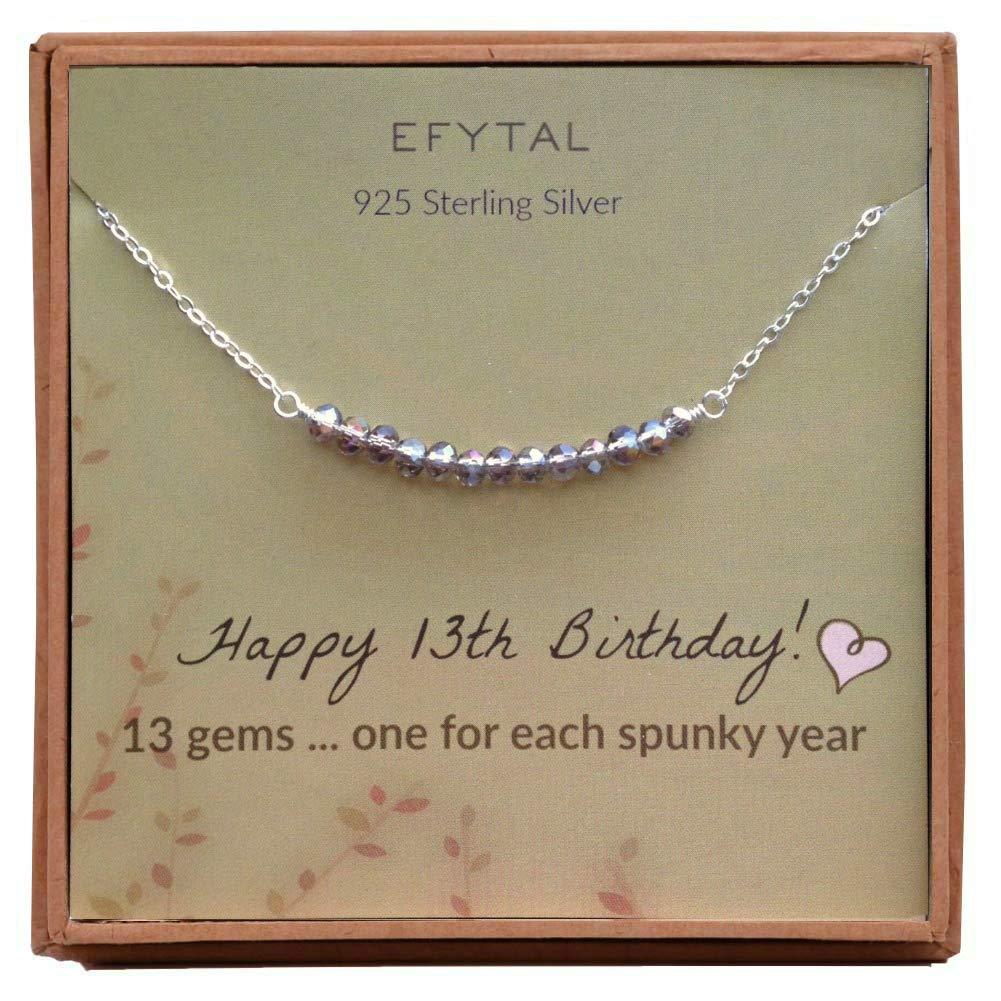 EFYTAL 13th Birthday Sterling 13