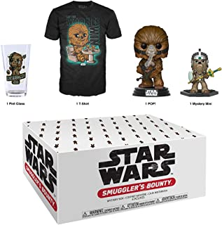 Funko Star Wars Smuggler's Bounty Subscription Box, Wookie Theme, April 2019, x Large T-Shirt