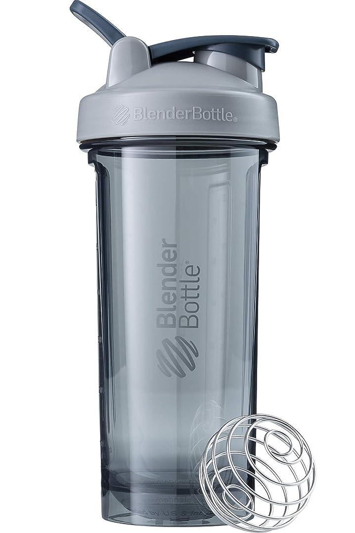 示す眠っている元気なブレンダーボトル 【日本正規品】 ミキサー シェーカー ボトル Pro Series Tritan Pro28 28オンス (800ml) ぺブルグレー BBPRO28 PG