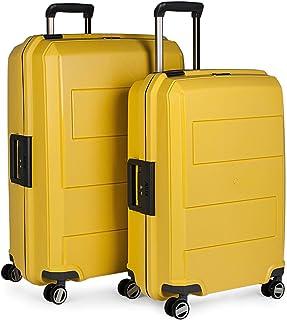 Jaslen Luggage Set, Yellow (Mostaza), 73 centimeters
