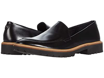 ECCO Incise Tailored Loafer (Black) Women