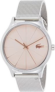 Lacoste Womens Quartz Watch, Analog Display and Stainless Steel Strap 2001042