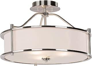 Best berryhill 3 light semi flush mount Reviews