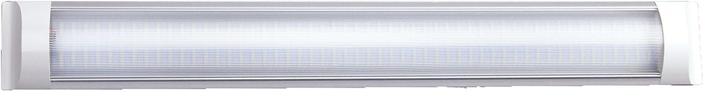 6000K Regleta Extraplana de cristal claro con 20W de potencia y luz fr/ía con 1900 Lm de potencia lum/ínica y 30000 horas de uso Grado de apertura de la luz: 130/º.Dimensiones: 60 x 7.5 x 2.4 cm.