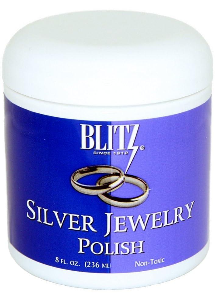 Blitz Silver Jewelry Polish, 8 Fluid Ounce