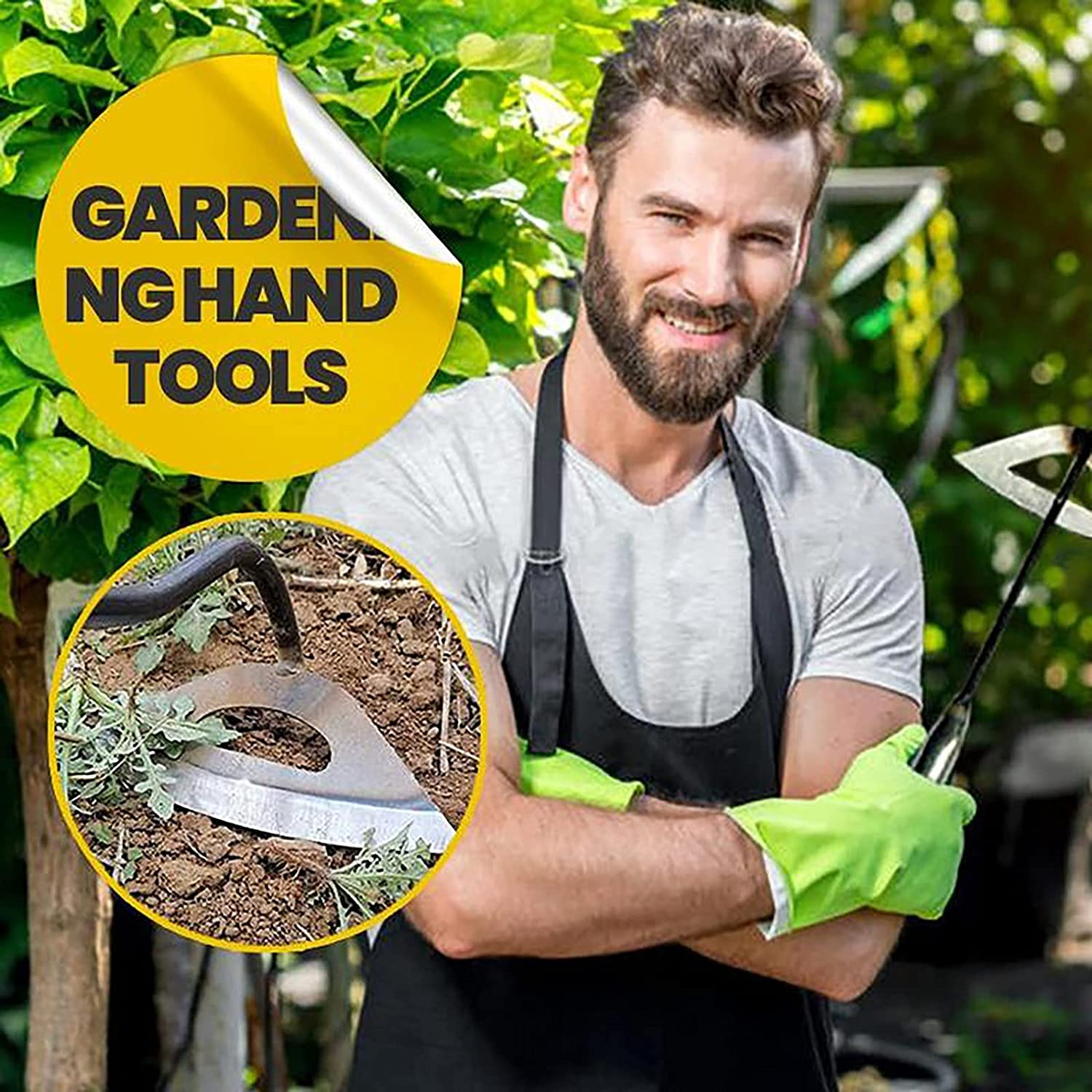 Ranking TOP8 YIQIAO Garden Hoe Steel Hardened - Raleigh Mall Edge Hollow Durable Tool