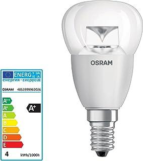 Osram Parathom Classic P PARACLP25A - Bombilla LED (E14, 3,3 W, luz blanca cálida, extra)
