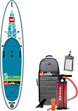 2017 Red Paddle Co 12'6 Explorer Inflatable Stand Up Paddle Board + Bag, Pump, Paddle & LEASH